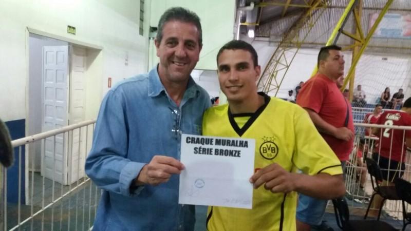 Willian Vinício, do General Câmara, foi eleito o craque da rodada