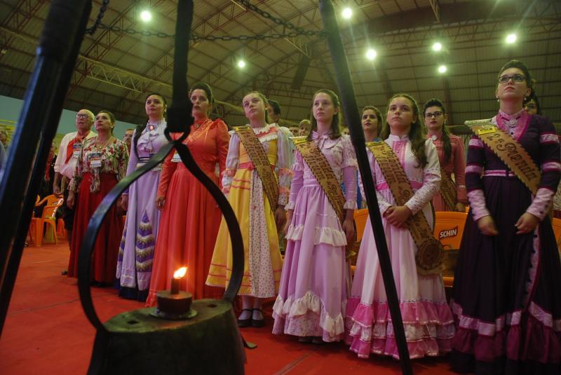 Abertura 66º Congresso Tradicionalista Gaúcho - São Jerôniomo