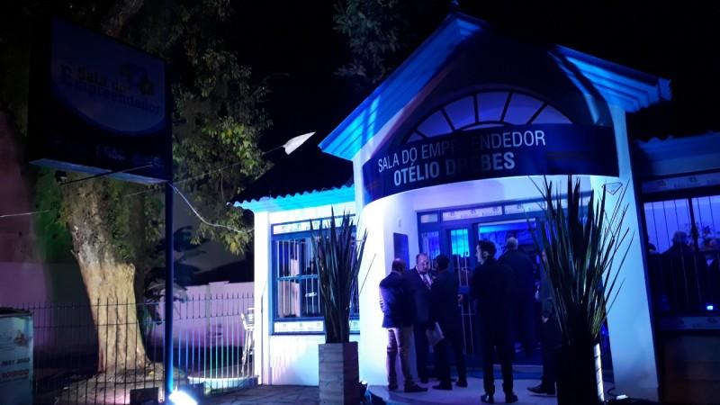 Sala do Empreendedor Otelio Drebes fica na Rua Rio Branco, ao lado do INSS